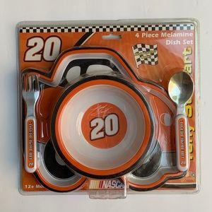 Nascar #20 Child- Plate - Bowl - Tumbler Set